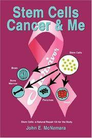 STEM CELLS CANCER & ME