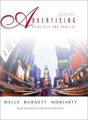 Advertising: Principles and Practice (6th Edition) by  Sandra Moriarty  John Burnett - Hardcover - from Discover Books (SKU: 3187554883)