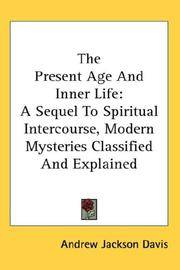 The Present Age and Inner Life