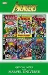 image of Avengers: Official Index to the Marvel Universe