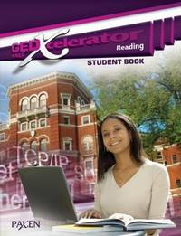 GED Xcelerator: Reading, Student Book by Paxen - Paperback - 2009 - from Rob Briggs Books (SKU: 800208)
