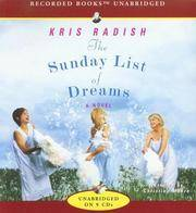 The Sunday List of Dreams by  Kris Radish - 2007 - from rerunz entertainment and Biblio.com