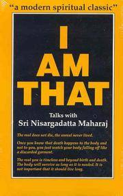 image of I Am That: Talks with Sri Nisargadatta
