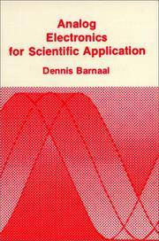 Analog Electronics for Scientific Application