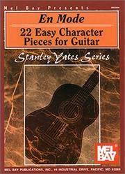 Mel Bay En Mode: 22 Easy Character Pieces for Guitar