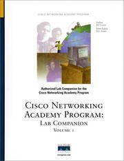 Lab Companion, Volume I (Cisco Networking Academy)