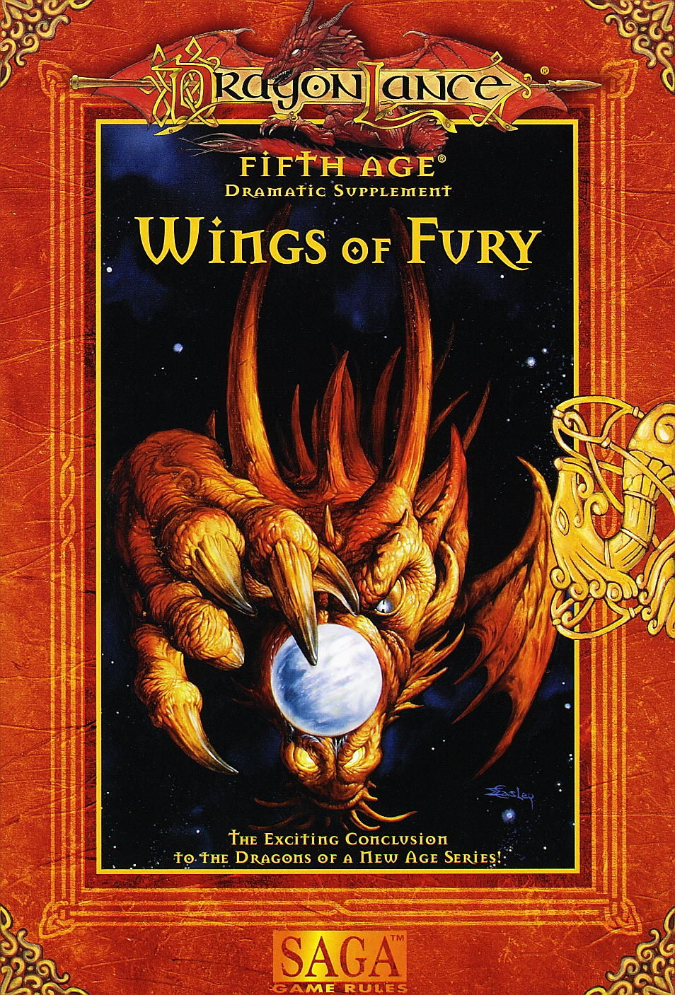 Wings of fury dragonlance fifth age dramatic adventure for Wings of fury