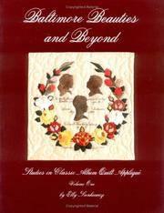 image of Baltimore Beauties and Beyond: Studies in Classic Album Quilt Applique, Vol. 1