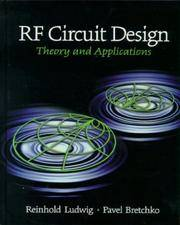 RF Circuit design - Theory and Application