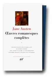 image of Jane Austen : OEuvres romanesques completes, tome 1 [Bibliotheque de la Pleiade] (French Edition)