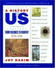 A History of US: Book 3: From Colonies to Country 1735-1791
