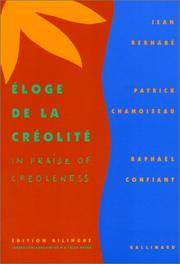 Eloge De La Creolite