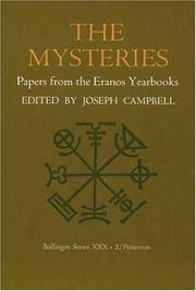 image of The Mysteries: Papers from the Eranos Yearbooks