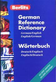 German Reference Dictionary by Berlitz Publishing - Paperback - from wagonwheelbooks and Biblio.co.uk