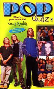 Pop Quiz by Nancy Krulik - Paperback - 1998 - from Cover To Cover Books, Inc. and Biblio.com