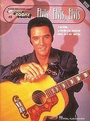 Elvis, Elvis, Elvis (E-Z Play Today, 49)