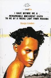 I Have Before Me a Remarkable Document Given To Me By a Young Lady From Rwanda (Aurora New Plays)