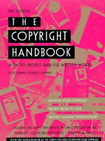 Book cannot be protected by copyright
