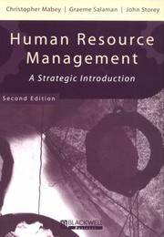 Human Resource Management 2e by  Christopher Mabey - Paperback - 1998 - from preownedcdsdvdsgames (SKU: 3W-60K7-MRSV)