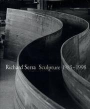 image of Richard Serra: Sculpture 1985-1998
