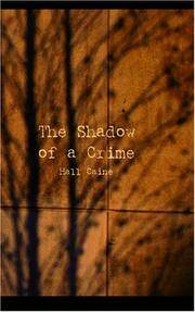 image of The Shadow of a Crime