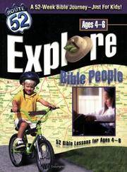 Explore Bible People (Route 52) by Creator-Standard Publishing - Paperback - 2003-09 - from Ergodebooks (SKU: SONG0784713235)