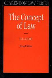 The Concept of Law Second Edition