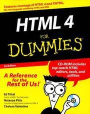 HTML 4 For Dummies (For Dummies (Computers))