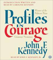 image of Profiles in Courage CD