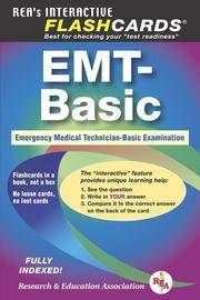 EMT-Basic - Interactive Flashcards Book for EMT (REA) (REA Test Preps), Not the Premium Edition by Jeffrey Lindsey Ph.D - Paperback - September 2005 - from The Book Worm Bookstore, LLC (SKU: 178544)