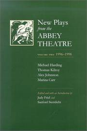 New Plays from the Abbey Theatre, Volume Two 1996-1998.