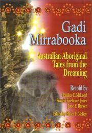 Gadi Mirrabooka  Australian Aboriginal Tales from the Dreaming