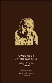 image of Owls Hoot in the Daytime_Other Omens: Selected Stories of Manly Wade Wellman (Volume 5)