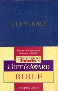 KJV Gift & Award Bible:Blue