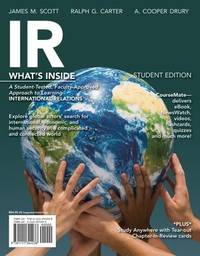 IR, 2014 Edition (with CourseMate Printed Access Card) (Explore Our New Political Science 1st Eds.) by  A. Cooper  Ralph G.; Drury - Paperback - 2013-01-01 - from Universal Textbook (SKU: SKU0035319)