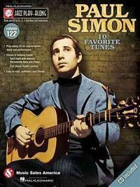 image of Paul Simon: Jazz Play-Along Volume 122 (Hal Leonard Jazz Play-Along)