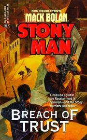 Breach Of Trust (Don Pendleton's Mack Bolan : Stony Man)