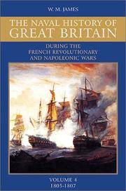 Naval History of Great Britain During the French Revolutionary and Napoleonic Wars    :     Vol....
