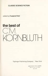 image of The Best of C.M. Kornbluth