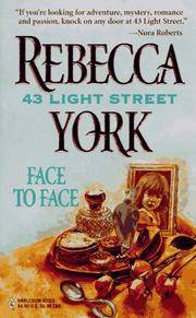 FACE TO FACE by REBECCA YORK - Paperback - from Montclair Book Center and Biblio.com
