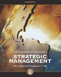 image of Strategic Management: Concepts : Competitiveness and Globalization