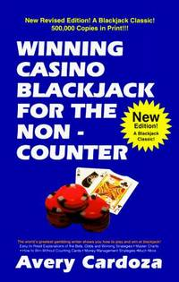 Winning Casino Blackjack For The Non-Counter by  Avery Cardoza - Paperback - 1994 - from The Book Cat (SKU: FS1023)