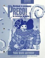 Prego! Workbook to Accompany 'an Invitation to Italian'