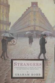 image of Strangers: Homosexuality in the Nineteenth Century
