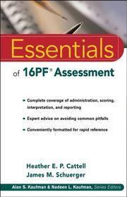 Essentials of 16PF Assessment (Essentials of Psychological Assessment)