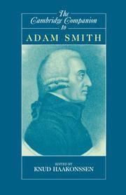 The Cambridge Companion to Adam Smith (Cambridge Companions to Philosophy)