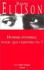 Homme invisible pour qui chantes-tu ?: (*) (Les Cahiers Rouges) (French Edition)