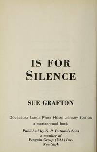 S Is For Silence, Large Print