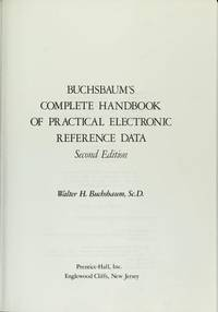 image of Buchsbaum's Complete Handbook of Practical Electronic Reference Data