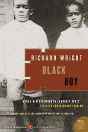 Black Boy, a Record Of Childhood and Youth